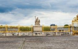 Golden Gate of Chateau de Versailles. Paris, France royalty free stock photos