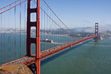 Golden Gate Cityscape Royalty Free Stock Photography