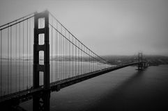 Golden Gate clássico imagens de stock royalty free