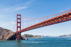 Golden Gate on Clear Day Royalty Free Stock Photo