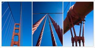 Golden Gate Compilation Stock Images
