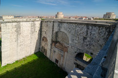 The Golden gate in Constantinople Stock Image