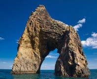 The Golden Gate Of Crimea. Famous Golden Gate rock in Karadag National park near Koktebel Crimea Royalty Free Stock Photo