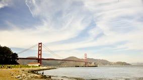 Golden Gate de Crissy Field Photographie stock libre de droits