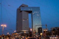 Golden Gate del centro di affari sulla strada principale degli entusiasti, Mosca, Russia Immagini Stock Libere da Diritti