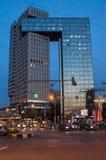 Golden Gate del centro di affari sulla strada principale degli entusiasti, Mosca, Russia Immagini Stock