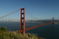 Golden Gate e sua história imagem de stock