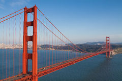 Golden Gate in the early evening Royalty Free Stock Image