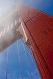 Golden Gate elevado Fotos de archivo libres de regalías