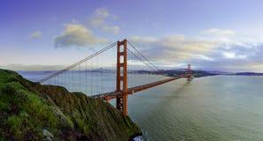Golden Gate en invierno fotografía de archivo