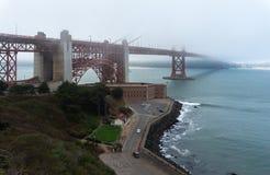 Golden Gate en San Francisco los E.E.U.U. Imagen de archivo