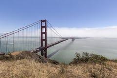 Golden Gate Fog Bank Stock Image