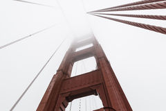 Golden Gate Fog Royalty Free Stock Photos