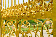 Golden gate, Herrenhausen Gardens, Hannover, Germany Stock Photography