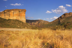 The Golden Gate Highlands National Park in South Africa Stock Images