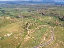 Golden Gate Highlands National Park, South Africa. Taken in 2015 stock image