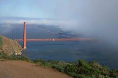 Golden Gate i San Francsco, CA Fotografering för Bildbyråer