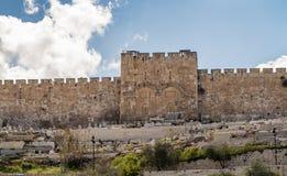 The Golden Gate in Jerusalem, Israel Royalty Free Stock Images