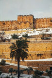 The Golden Gate in Jerusalem, Israel Royalty Free Stock Image