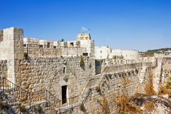 The Golden Gate in Jerusalem's old city view Royalty Free Stock Photos