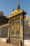 The golden gate at the Justice palace In Paris, France. Royalty Free Stock Photo