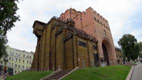 Golden Gate, Kiev stock footage