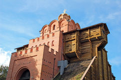 Golden gate in Kiev, Ukraine Stock Photography