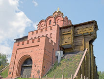 Golden Gate in Kiev, Ukraine Royalty Free Stock Photos