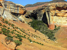 Golden Gate National Park, South Africa. Landscape in Golden Gate National Park, South Africa Stock Photo