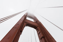 Golden Gate-Nebel Stockbild