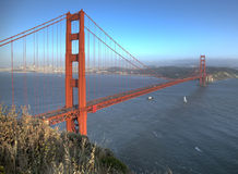 Golden Gate On a clear sunny day Royalty Free Stock Image