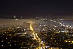 Golden Gate Night Royalty Free Stock Images