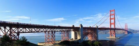 Golden Gate panorama Stock Photos
