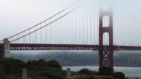 Golden Gate panoramique banque de vidéos