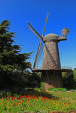 Golden Gate Park Dutch Windmill in San Francisco Stock Images