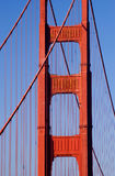 Golden Gate pilon, San Francisco Stock Photos