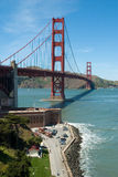 Golden Gate Portrait Stock Image