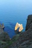 The Golden Gate Rock. Crimea. Royalty Free Stock Photo