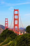 Golden Gate from San Francisco Stock Image
