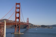 Golden Gate,San Francisco Royalty Free Stock Photography