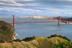 Golden Gate and San Francisco Royalty Free Stock Images
