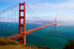 Golden Gate, San Francisco. The Golden Gate Bridge in San Francisco, California, USA Stock Photos