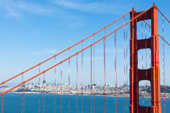 Golden gate in san francisco Royalty Free Stock Photography
