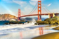 Golden Gate, San Francisco, California, U.S.A. Immagine Stock