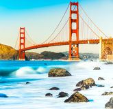 Golden Gate, San Francisco, California, U.S.A. Fotografia Stock