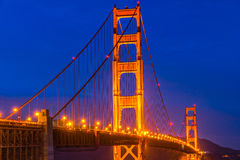 Golden Gate, San Francisco, California, USA. Royalty Free Stock Photos