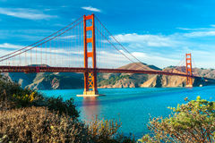 Golden Gate, San Francisco, California, USA. royalty free stock photos
