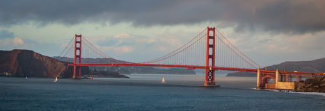Golden Gate of San Francisco at Daytime Stock Images