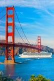 Golden Gate San Francisco, Kalifornien, USA Arkivfoto