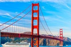 Golden Gate San Francisco, Kalifornien, USA Royaltyfria Foton